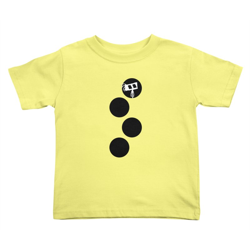Sprites Dots Kids Toddler T-Shirt by The Little Fears