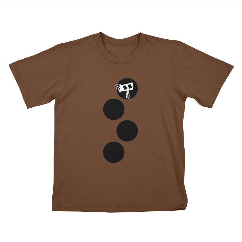 Sprites Dots Kids T-Shirt by The Little Fears