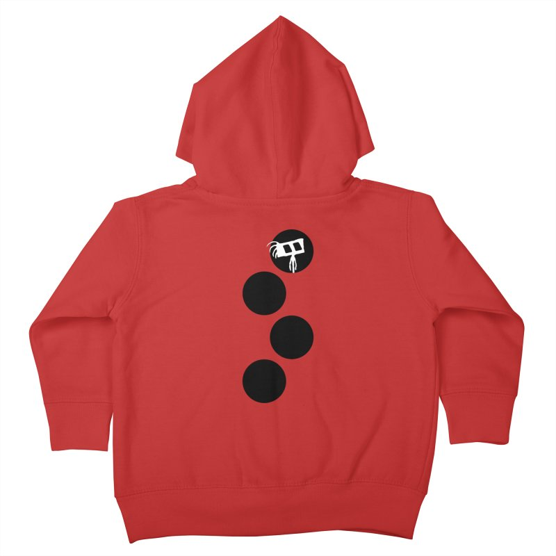Sprites Dots Kids Toddler Zip-Up Hoody by The Little Fears