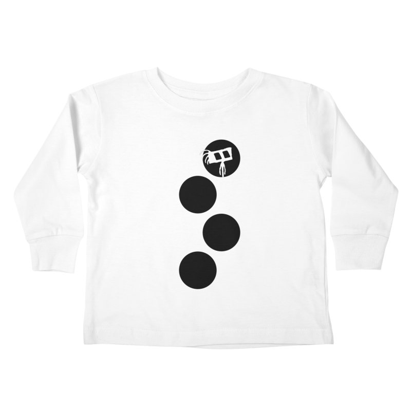Sprites Dots Kids Toddler Longsleeve T-Shirt by The Little Fears