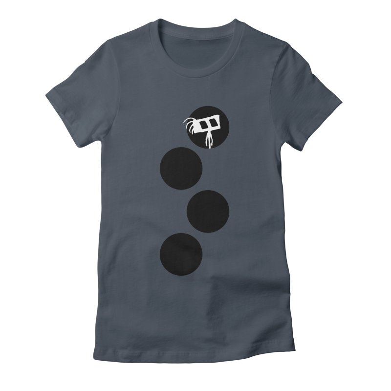 Sprites Dots Women's T-Shirt by The Little Fears