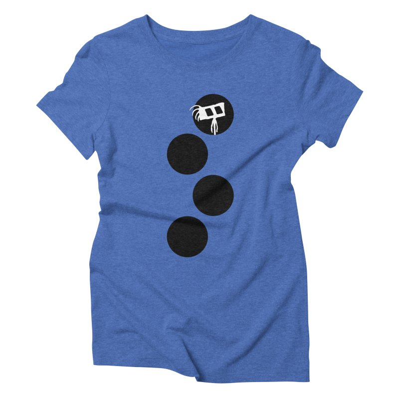 Sprites Dots Women's Triblend T-Shirt by The Little Fears