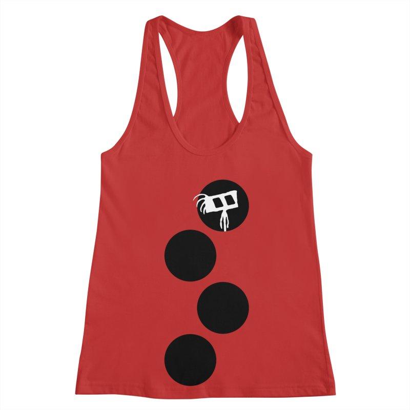 Sprites Dots Women's Racerback Tank by The Little Fears