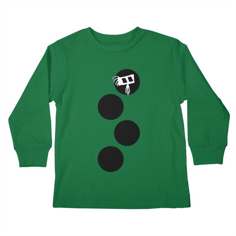 Sprites Dots Kids Longsleeve T-Shirt by The Little Fears