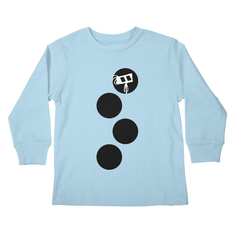 Sprites Dots Kids Longsleeve T-Shirt by The Little Fears