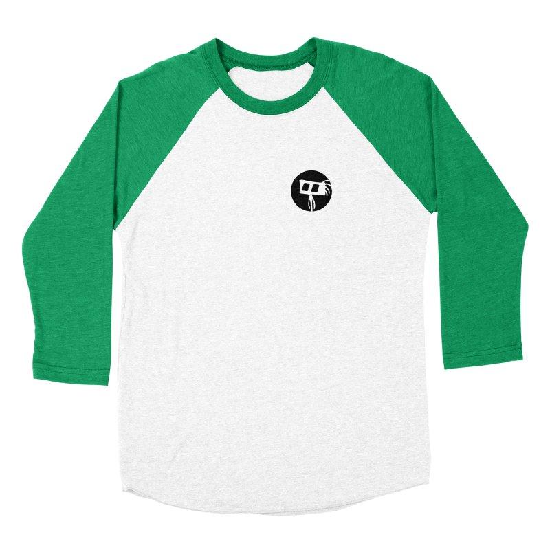 Spritely Dot Men's Baseball Triblend Longsleeve T-Shirt by The Little Fears