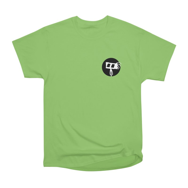 Spritely Dot Men's Heavyweight T-Shirt by The Little Fears