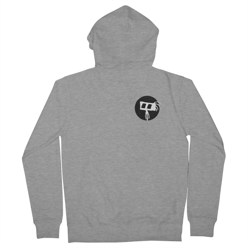 Spritely Dot Men's French Terry Zip-Up Hoody by The Little Fears