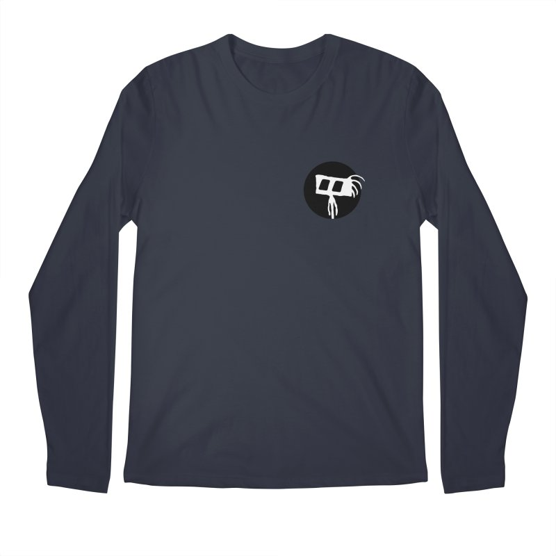 Spritely Dot Men's Regular Longsleeve T-Shirt by The Little Fears