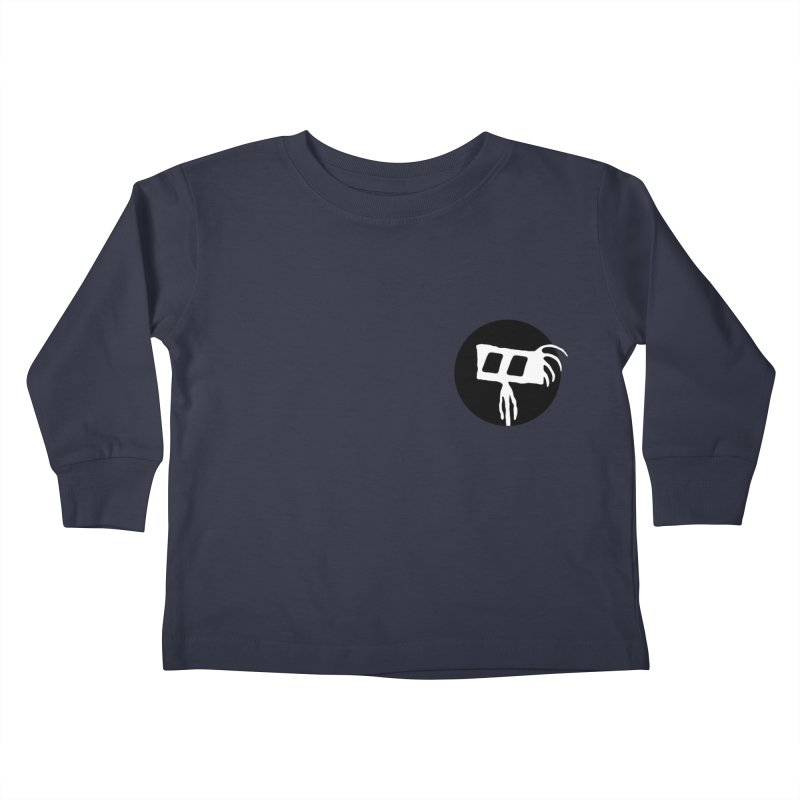 Spritely Dot Kids Toddler Longsleeve T-Shirt by The Little Fears