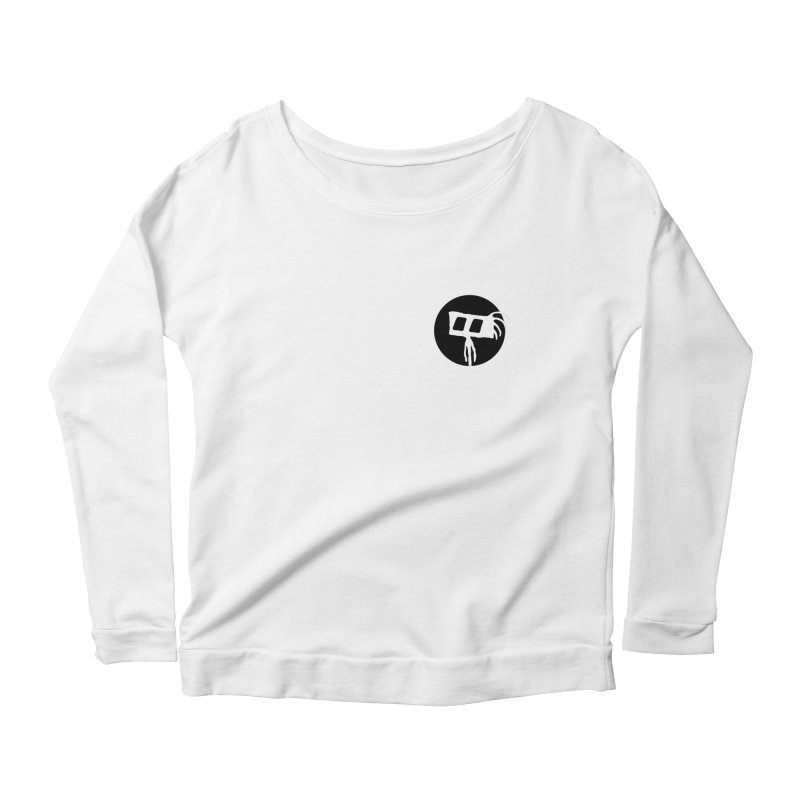 Spritely Dot Women's Scoop Neck Longsleeve T-Shirt by The Little Fears