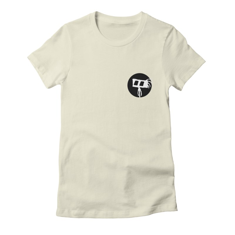 Spritely Dot Women's Fitted T-Shirt by The Little Fears