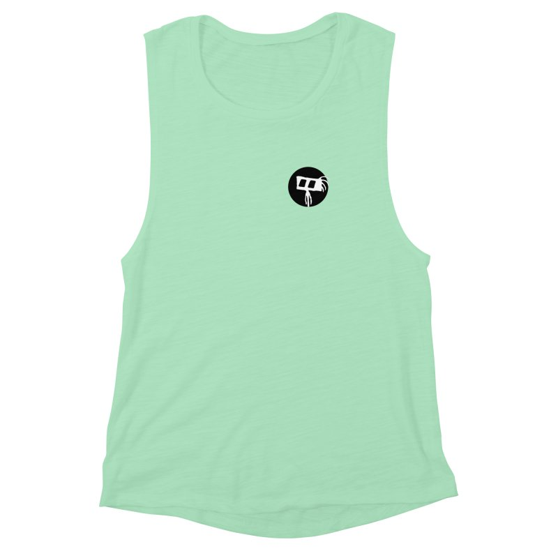 Spritely Dot Women's Muscle Tank by The Little Fears