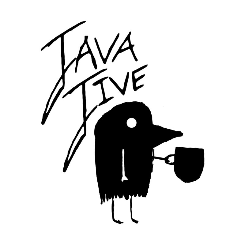 Java Jive Men's Sweatshirt by The Little Fears