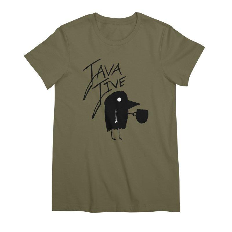 Java Jive Women's Premium T-Shirt by The Little Fears