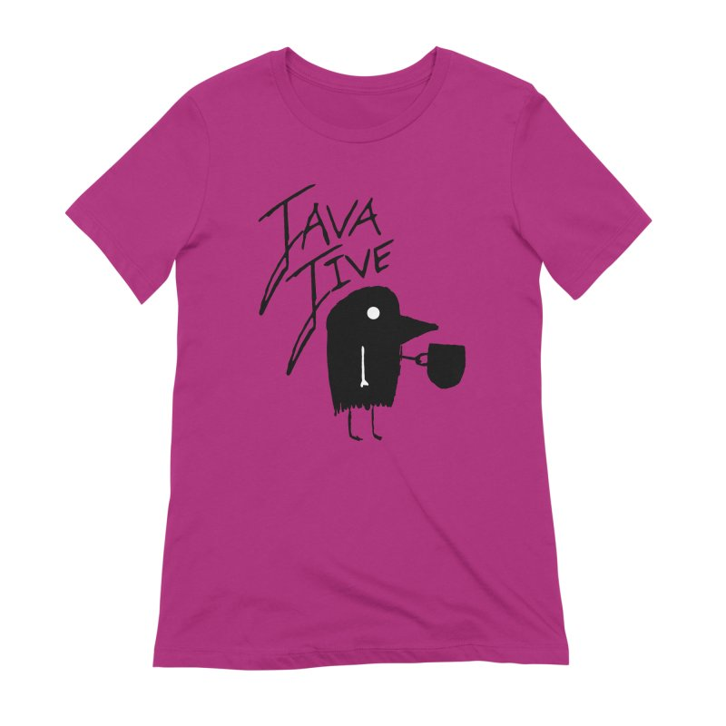 Java Jive Women's Extra Soft T-Shirt by The Little Fears