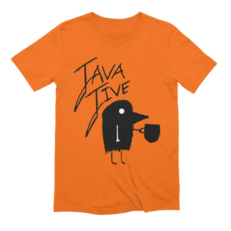 Java Jive Men's Extra Soft T-Shirt by The Little Fears