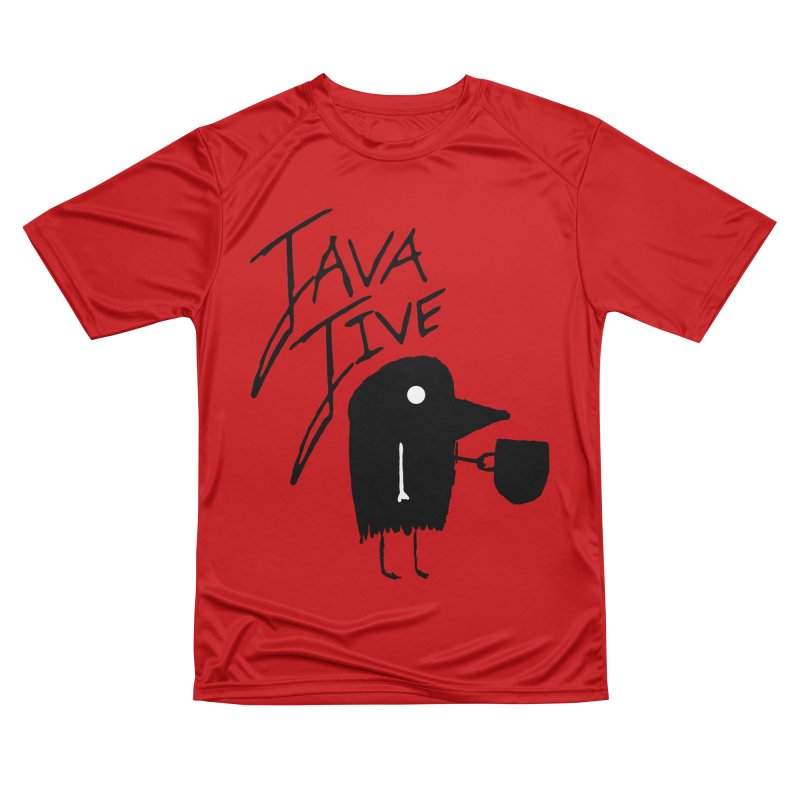 Java Jive Women's Performance Unisex T-Shirt by The Little Fears