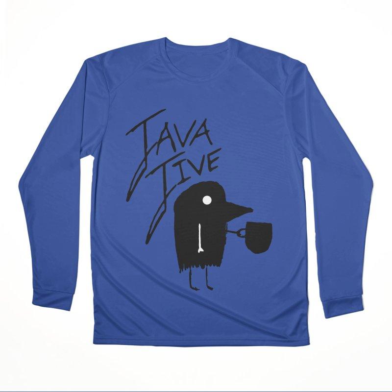 Java Jive Men's Performance Longsleeve T-Shirt by The Little Fears