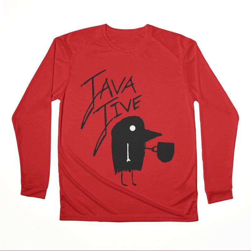 Java Jive Women's Performance Unisex Longsleeve T-Shirt by The Little Fears