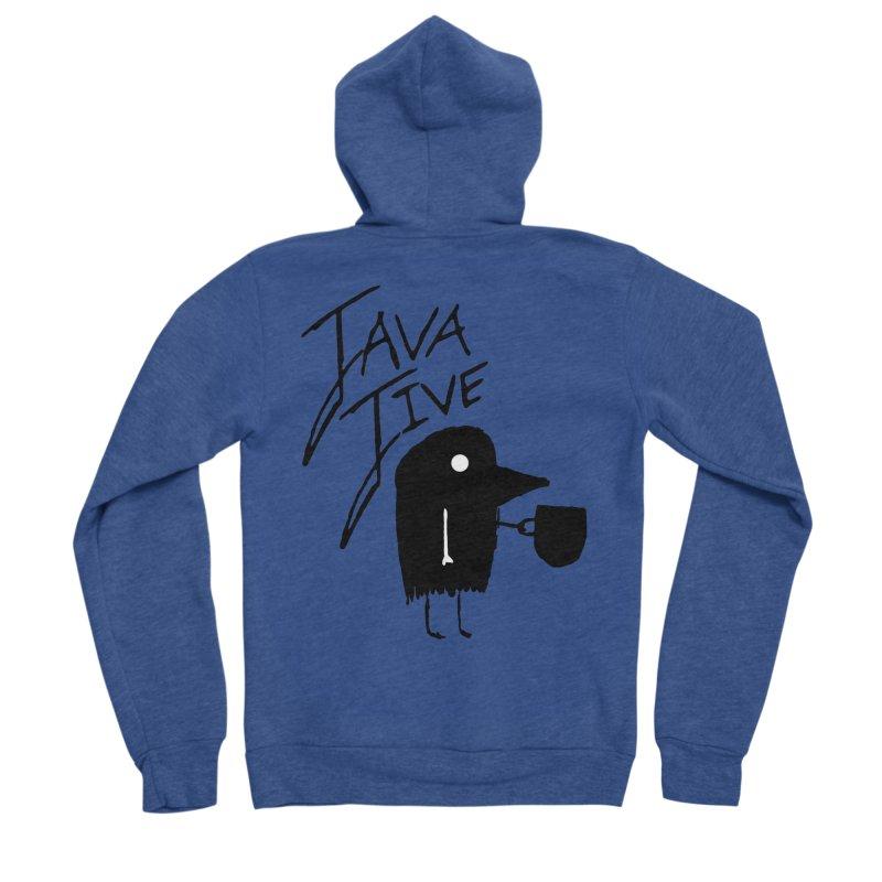 Java Jive Men's Sponge Fleece Zip-Up Hoody by The Little Fears