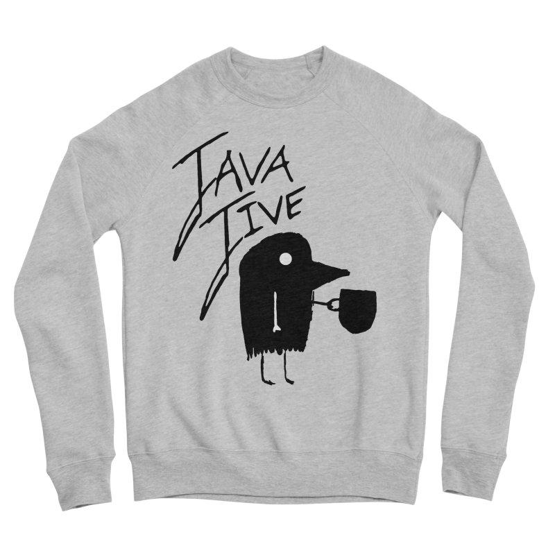 Java Jive Men's Sponge Fleece Sweatshirt by The Little Fears