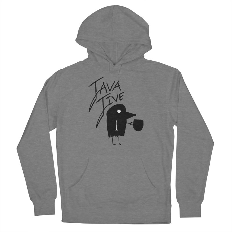 Java Jive Men's French Terry Pullover Hoody by The Little Fears