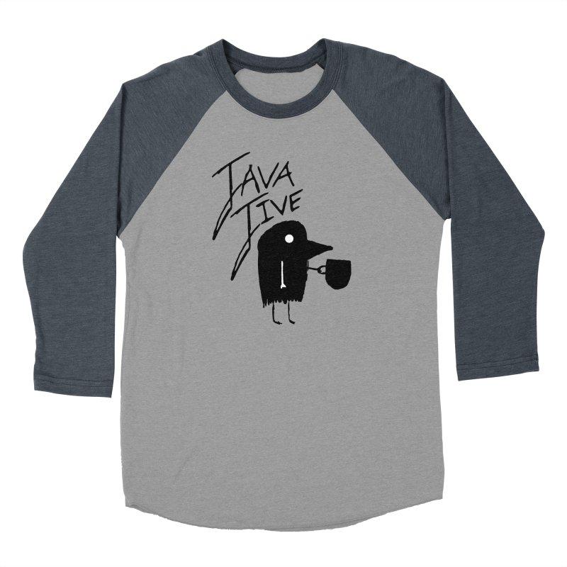 Java Jive Women's Baseball Triblend Longsleeve T-Shirt by The Little Fears