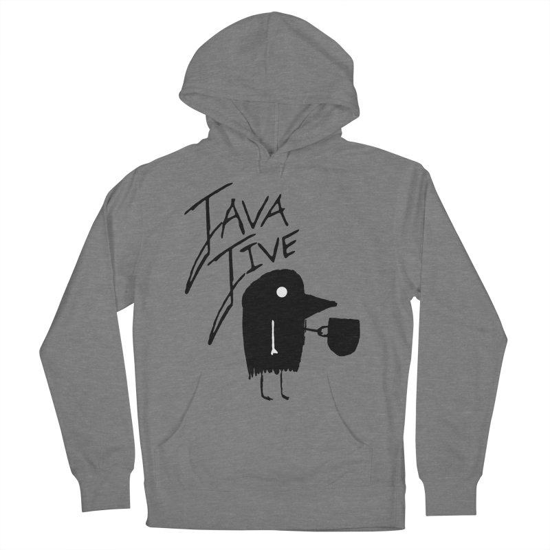 Java Jive Women's French Terry Pullover Hoody by The Little Fears