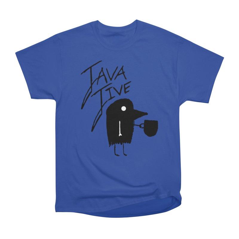 Java Jive Women's Heavyweight Unisex T-Shirt by The Little Fears