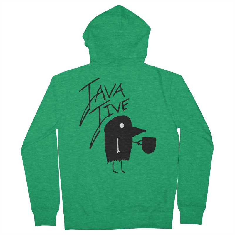 Java Jive Women's Zip-Up Hoody by The Little Fears
