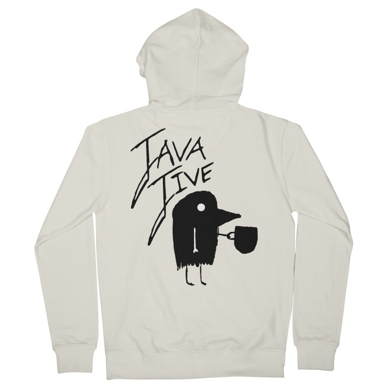 Java Jive Women's French Terry Zip-Up Hoody by The Little Fears