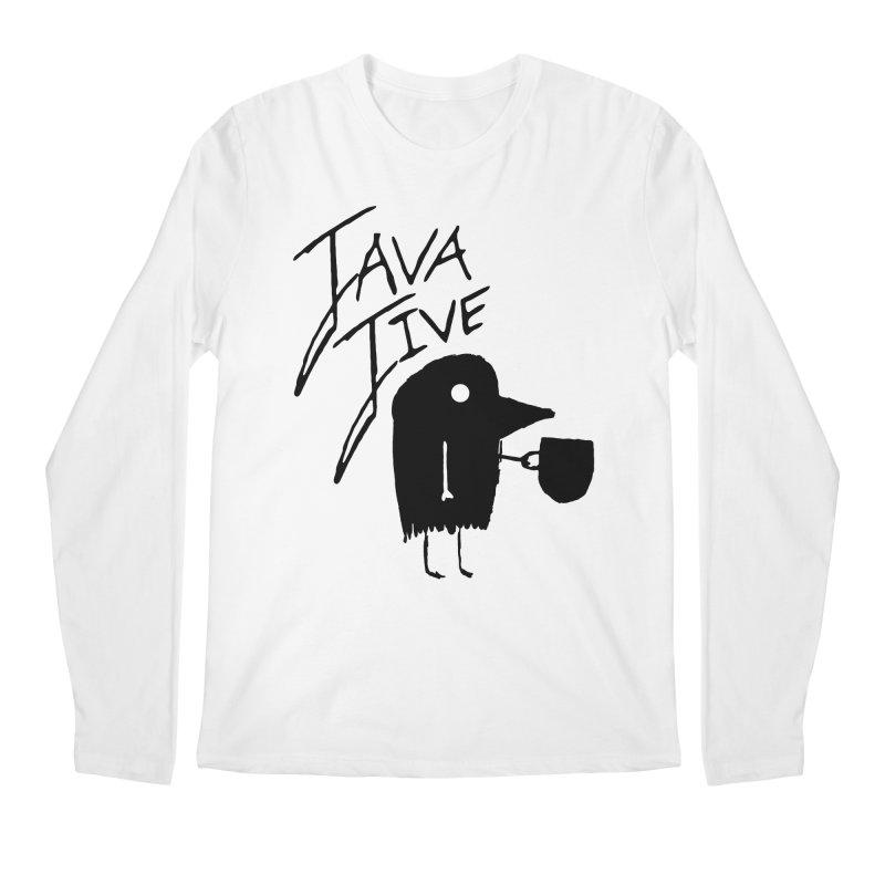 Java Jive Men's Regular Longsleeve T-Shirt by The Little Fears