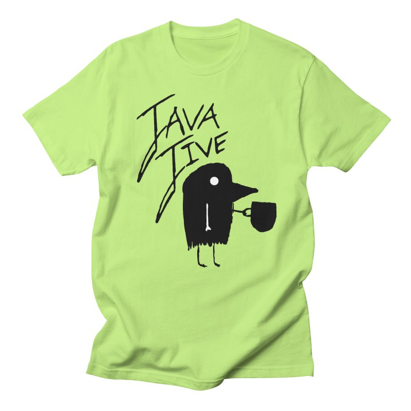 Java Jive Men's Regular T-Shirt by The Little Fears