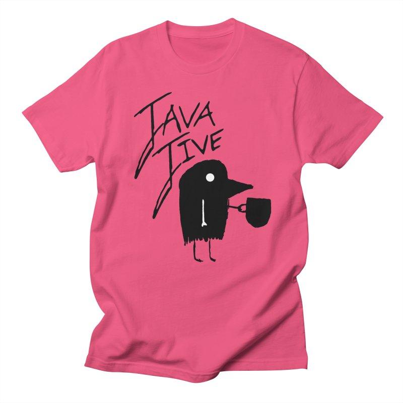 Java Jive Men's Regular T-Shirt by The Little Fears