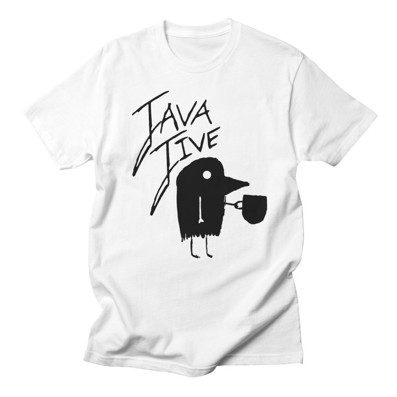 Java Jive Women's Regular Unisex T-Shirt by The Little Fears