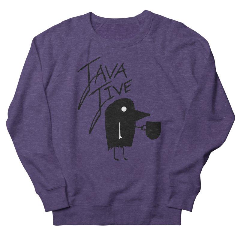 Java Jive Men's French Terry Sweatshirt by The Little Fears