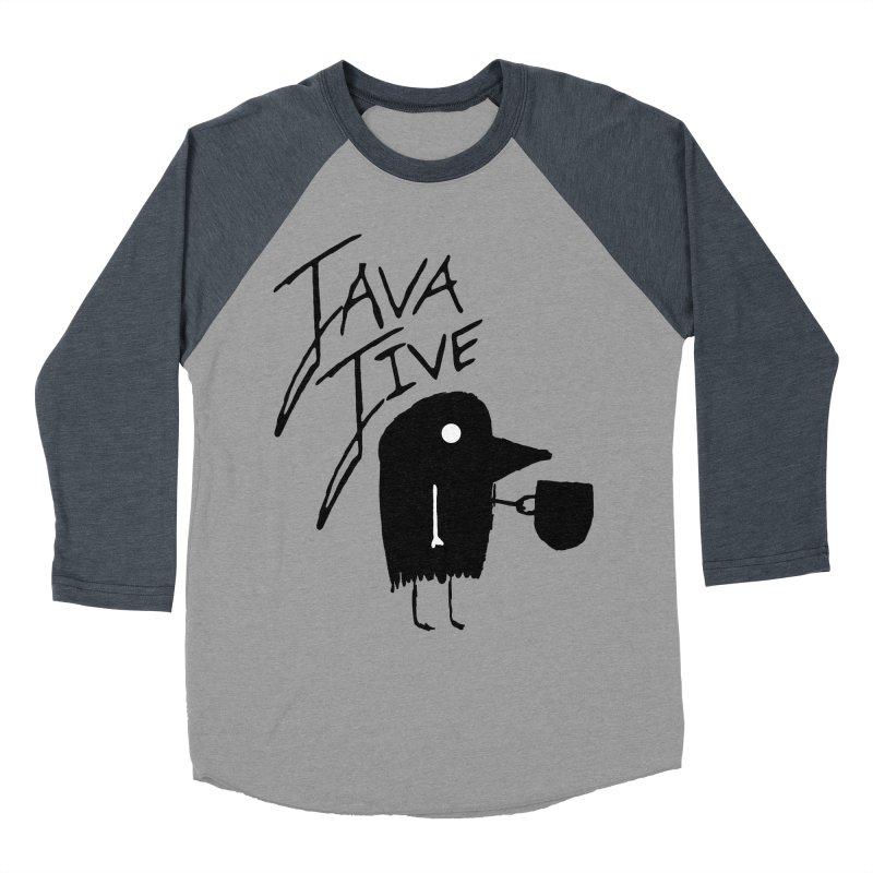 Java Jive Men's Baseball Triblend Longsleeve T-Shirt by The Little Fears