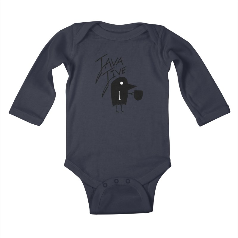 Java Jive Kids Baby Longsleeve Bodysuit by The Little Fears