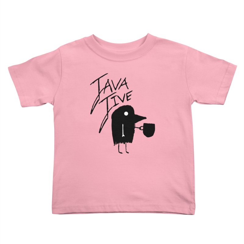 Java Jive Kids Toddler T-Shirt by The Little Fears