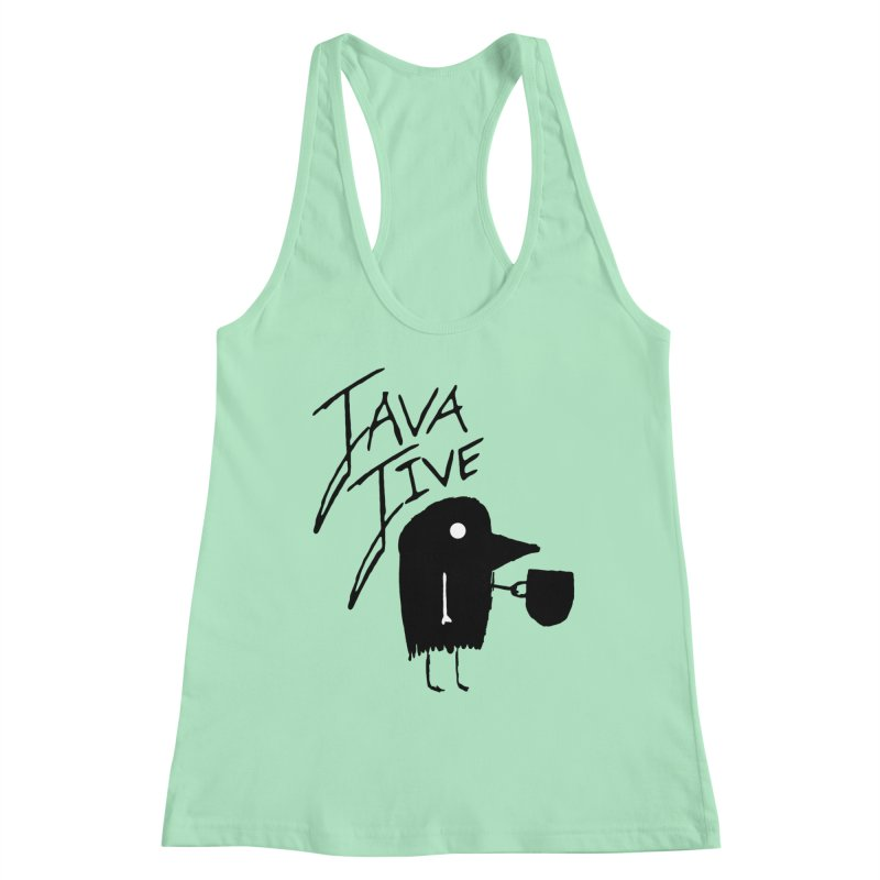 Java Jive Women's Racerback Tank by The Little Fears