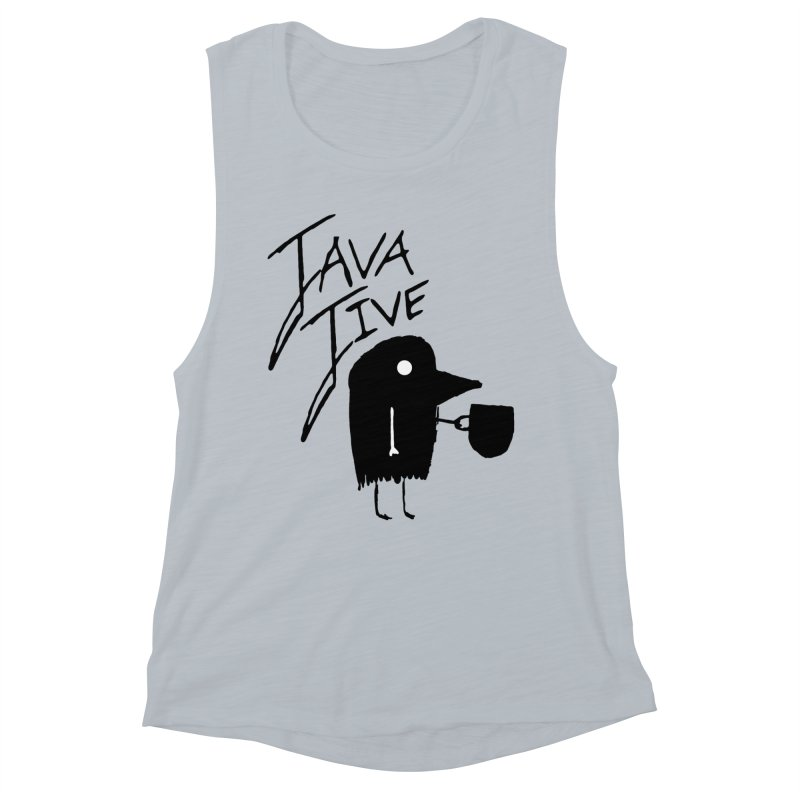 Java Jive Women's Muscle Tank by The Little Fears