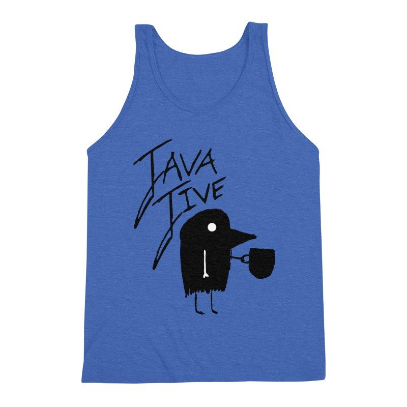 Java Jive Men's Triblend Tank by The Little Fears