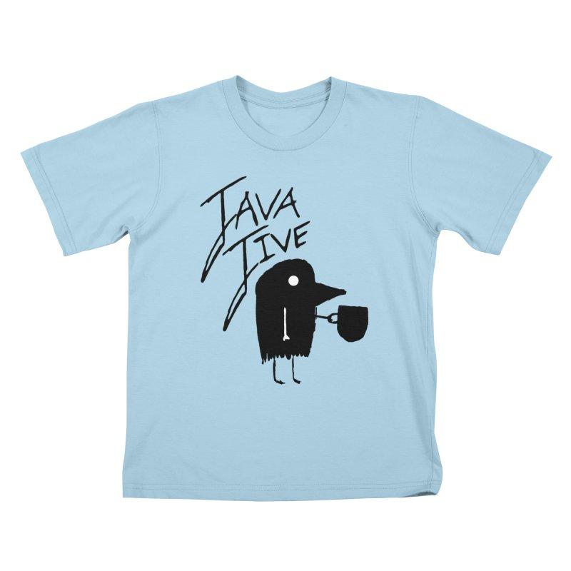 Java Jive Kids T-Shirt by The Little Fears