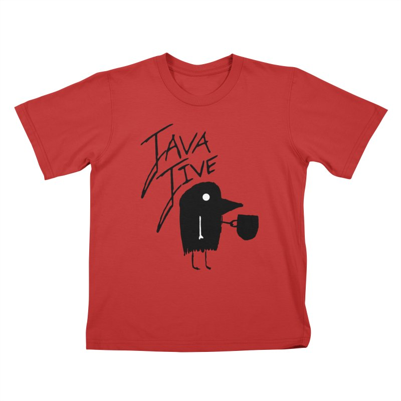 Java Jive Kids T-Shirt by The Little Fears