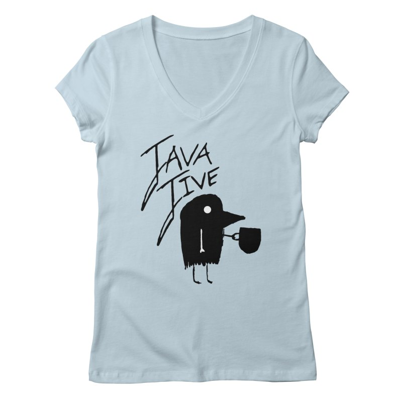 Java Jive Women's Regular V-Neck by The Little Fears