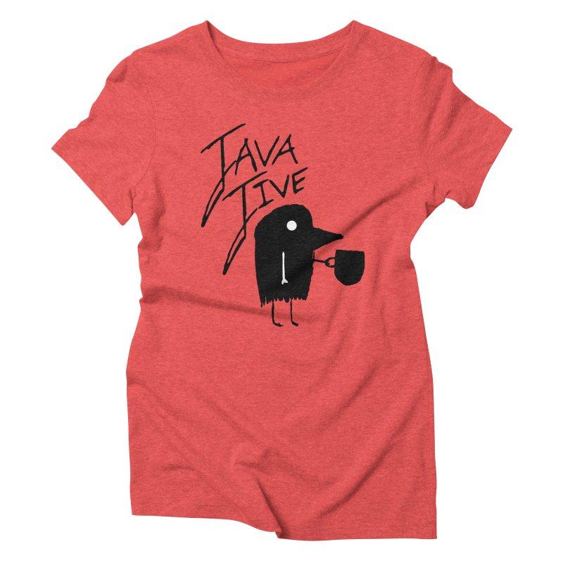 Java Jive Women's Triblend T-Shirt by The Little Fears