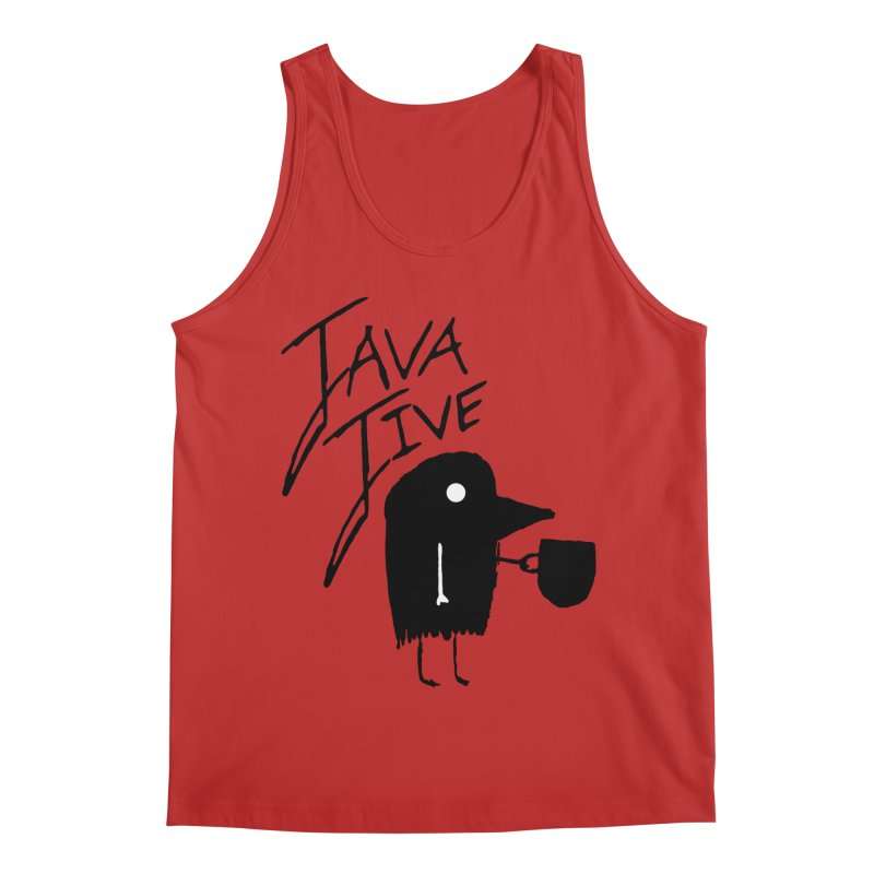Java Jive Men's Regular Tank by The Little Fears