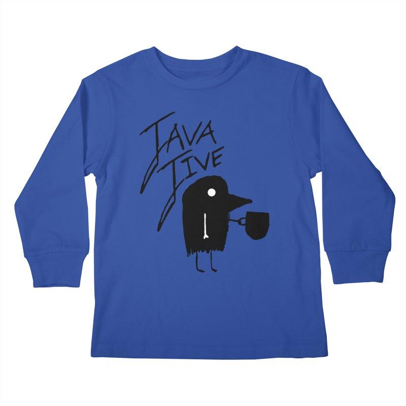 Java Jive Kids Longsleeve T-Shirt by The Little Fears