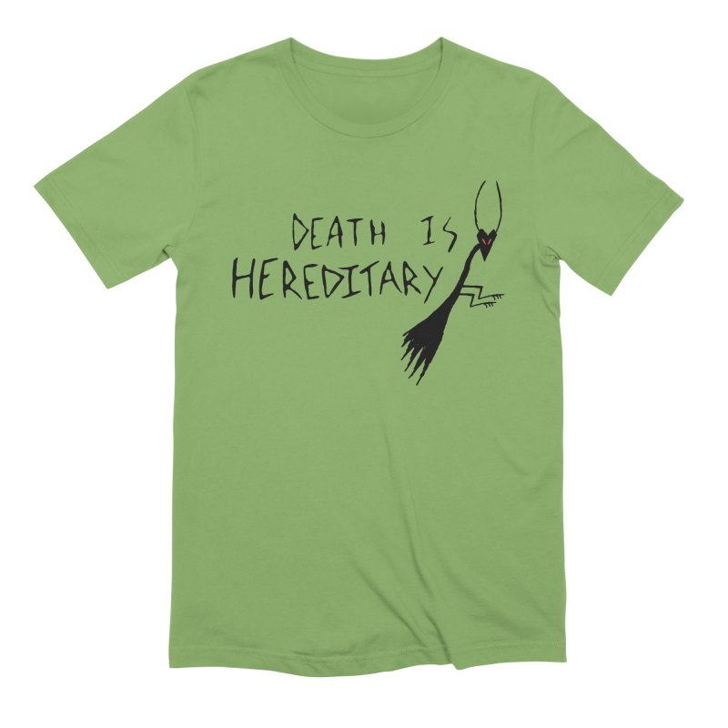 Death is Hereditary Men's Extra Soft T-Shirt by The Little Fears